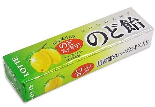風邪の予防 のど飴