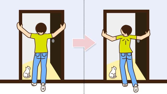 猫背解消で劇的健康効果!今すぐできる猫背矯正ストレッチ!